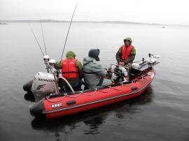 Специфика ловли спиннингом с лодки
