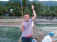Ловля кефали в Черном море