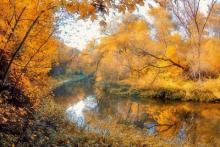 Осенняя щука на живца